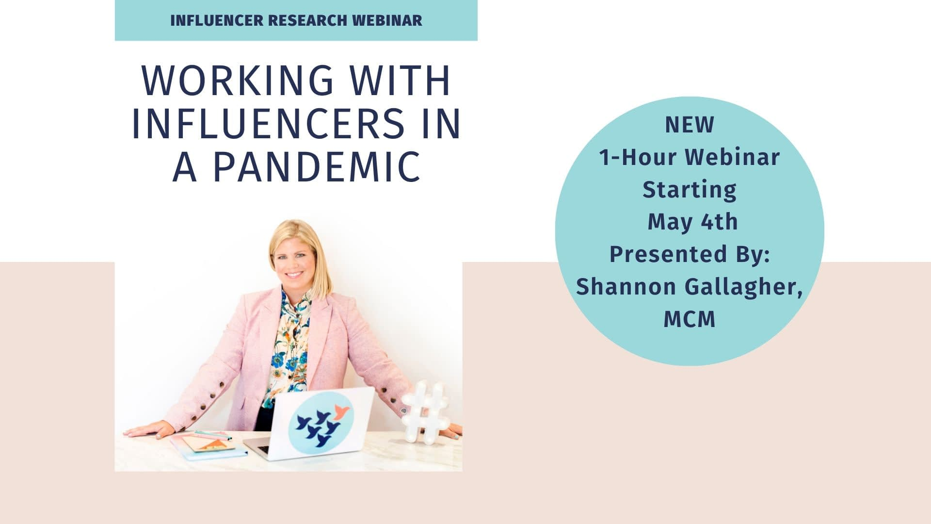 New Research Webinar: Working With Influencers In A Pandemic